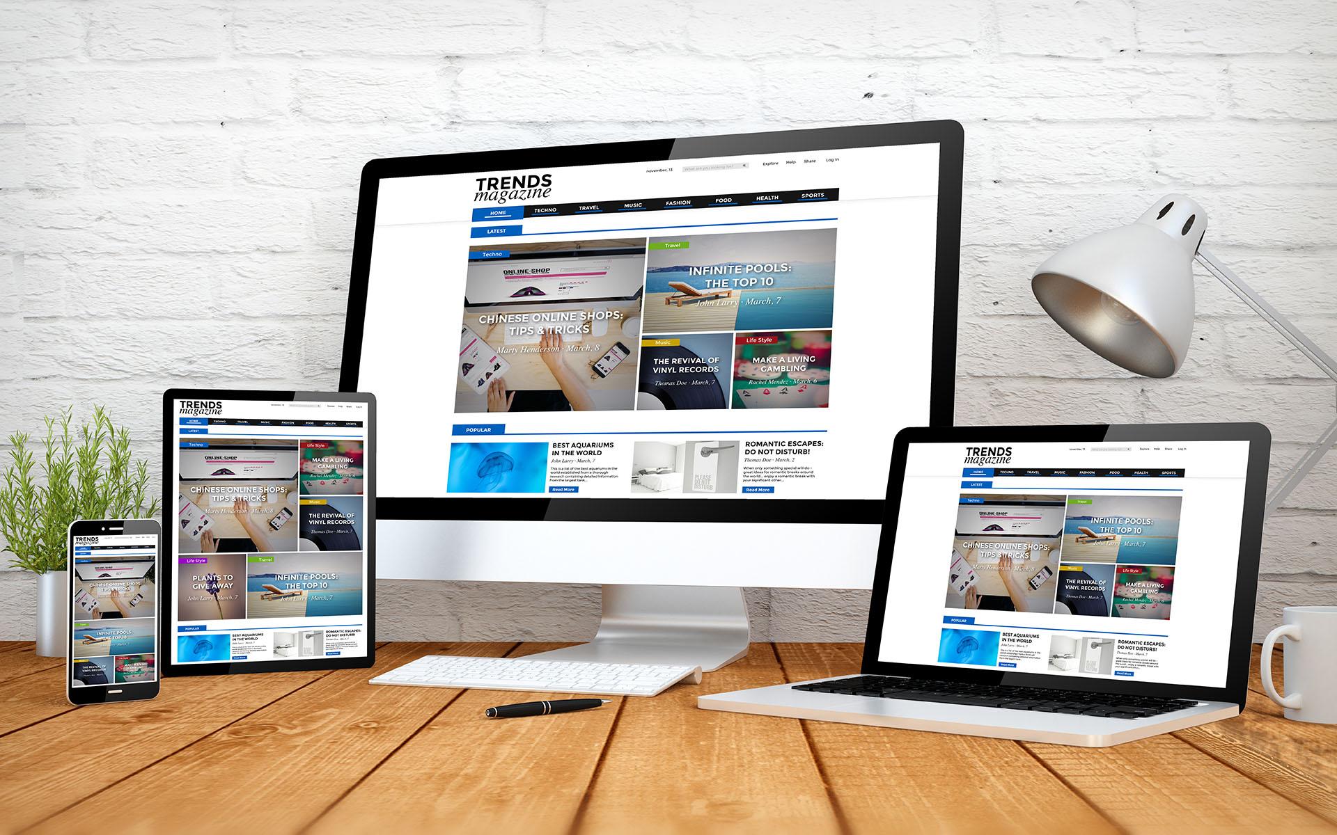 Webサイトの制作イメージ
